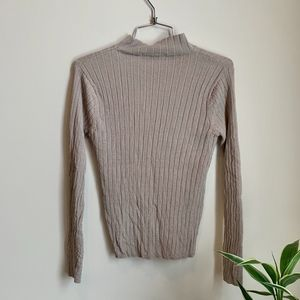 Valerie Stevens Long Sleeve Turtleneck Shirt sz S